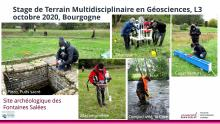 Stage multidisciplinaire en Géosciences